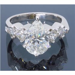 14KT White Gold 2.35ctw Diamond Ring