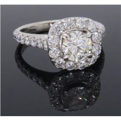 14KT White Gold Neil Lane 1.15ctw Diamond Ring