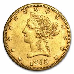 1895-O $10 Liberty Head Eagle Gold Coin
