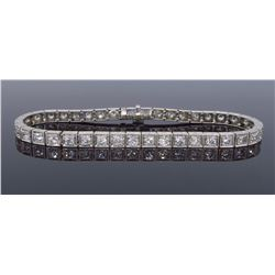 Platinum 2.75ctw Diamond Bracelet