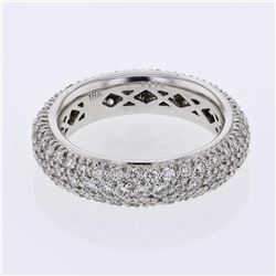 18KT White Gold 1.76ctw Diamond Ring