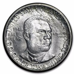 1946-S Booker T Washington Half Dollar Coin