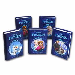 Lot of (5) 2016 $2 Disney Frozen Complete Set Niue Silver Coins