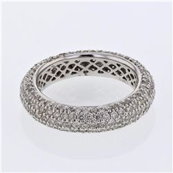 14KT White Gold 2.02ctw Diamond Ring