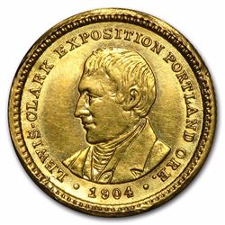 1904 $1 Lewis and Clark Gold Coin