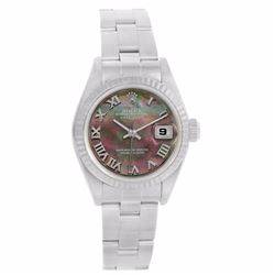 Rolex Stainless Steel Datejust Ladies Wristwatch