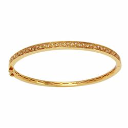 14KT Yellow Gold 0.15ctw Diamond Bracelet