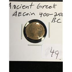 ANCIENT GREEK BRONZE COIN!