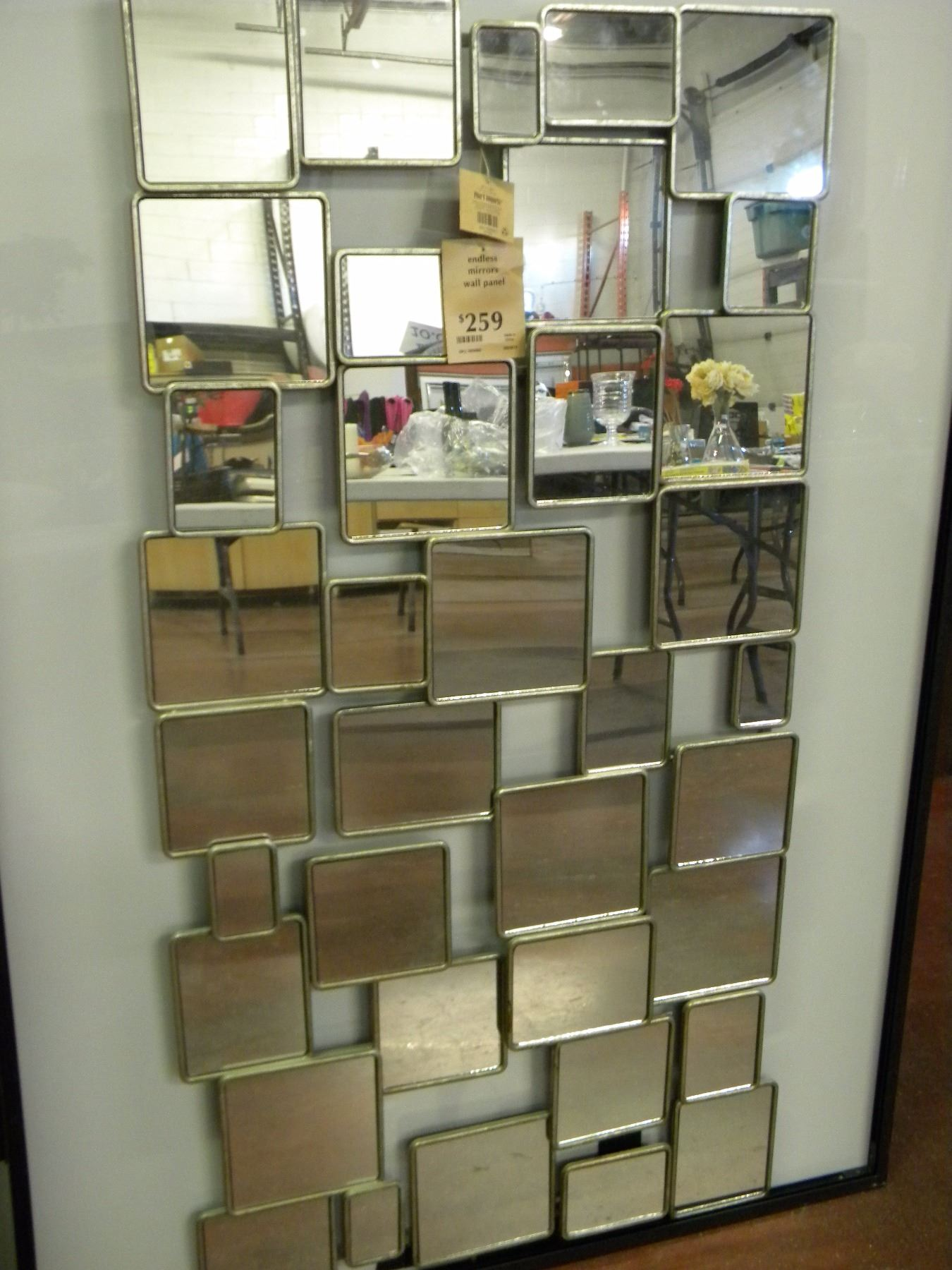 endless mirror wall panel pier 1 imports