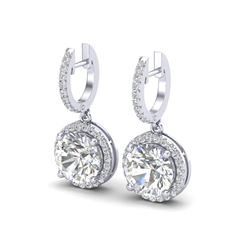 4.50 CTW VS/SI Diamond Certified Designer 18K White Gold - REF-1685Y9N - 23181
