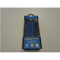 PS4 QiuckType controller text pad
