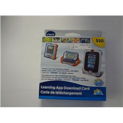 Vtech Learning App Dowload Card