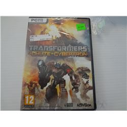 PC Game Transformers