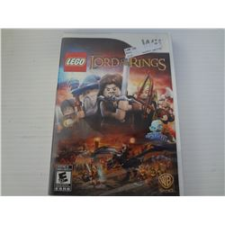 Wii Lego Lord of the rings