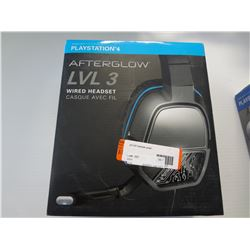 PS4 Afterglow lvl3 Wired Stereo Headset