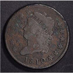 1810 CLASSIC HEAD LARGE CENT VG