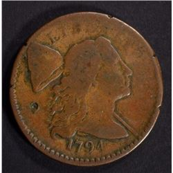 1794 LIBERTY CAP LARGE CENT FINE Hit on OBV