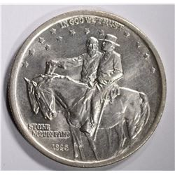 STONE MOUNTAIN HALF DOLLAR COMMEM CHBU
