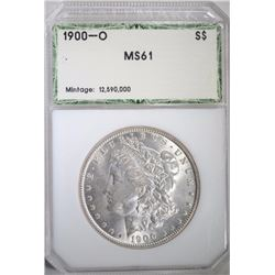 1900-O MORGAN DOLLAR PCI CHOICE BU