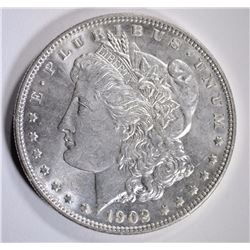 1902 MORGAN DOLLAR CHOICE BU/GEM BU
