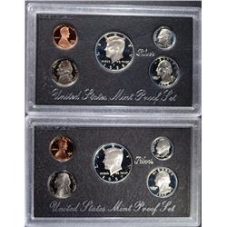 1995/1997 US MINT SILVER PROOF SETS