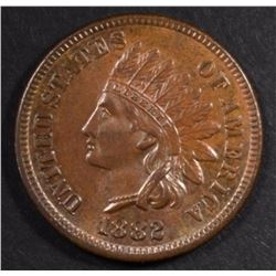 1882 INDIAN CENT, GEM BU