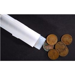 ROLL OF 50-1911-D LINCOLN CENTS AVE CIRC