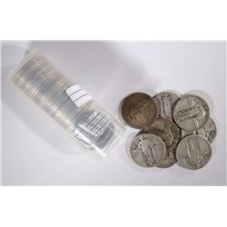 40-STANDING LIBERTY QUARTERS WITH DATES