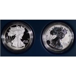 2012 2-PIECE SAN FRANCISCO SILVER EAGLE SET