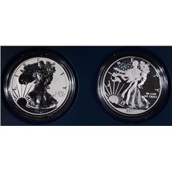 2013 WEST POINT 2-PIECE PROOF SILVER EAGLE ST