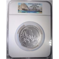 2010 P 5 oz YOSEMITE NGC SP 69 EARLY RELEASES
