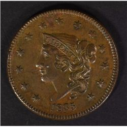1835 LARGE CENT HEAD OF 1836  BROWN