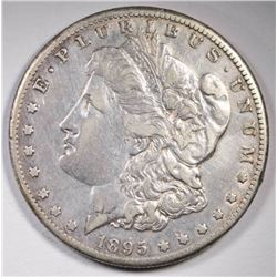 1895-O MORGAN DOLLAR XF-AU