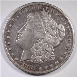 1881-CC MORGAN DOLLAR VF-XF