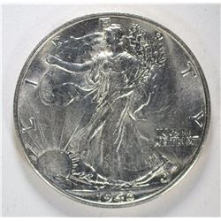 1946-S WALKING LIBERTY HALF BU