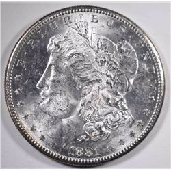 1881-S MORGAN DOLLAR, CH BU FLASHY