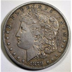 1878 8TF MORGAN SILVER DOLLAR, XF