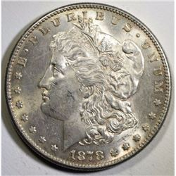 1878-S MORGAN DOLLAR BU