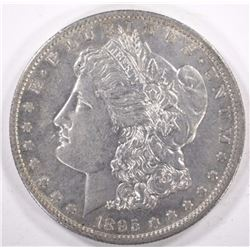 1895-O MORGAN DOLLAR, NICE AU!