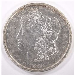 1896-O MORGAN DOLLAR, AU/UNC