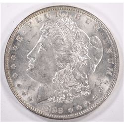 1899 MORGAN DOLLAR, CHOICE BU