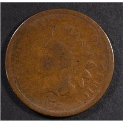 1872 INDIAN CENT, GOOD KEY DATE