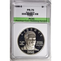 1998-S BLACK PATRIOTS COMMEM, PCSS