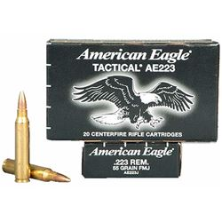 Federal American Eagle 223Rem 55GR - 500 Rounds
