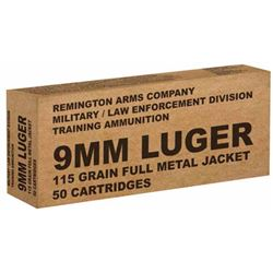 Remington Overrun 9mm 115GR - 500 Rounds