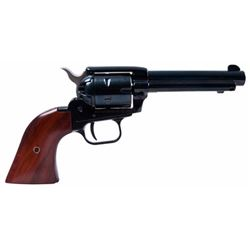 "Heritage Mfg RR22MB4 Rough Rider Small Bore Single 22 Long Rifle (LR) w/22 WMR Cylinder 4.75"" 6 Coco"