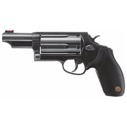 "Taurus 2441061MAG Judge Tracker Magnum SA/DA 410/45LC 6.5"" 5rd FOF Black Ribber Grip Matte Black"