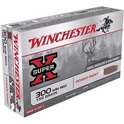 Winchester Super-X 300WinMag 150GR - 200 Rounds