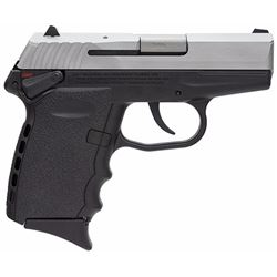 "SCCY Industries CPX2TT CPX-2 Double 9mm 3.1"" 10+1 Black Polymer Grip/Frame Grip Stainless Steel"