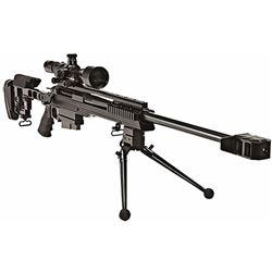 "ArmaLite 30A1BT300 AR-30A1 Target Rifle Bolt 300 Winchester Magnum 24"" 5+1 Adjustable Blk Stk Blk Ha"